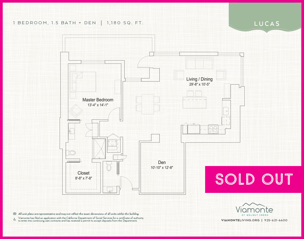 Viamonte - Floor Plan - Lucas - SOLD OUT