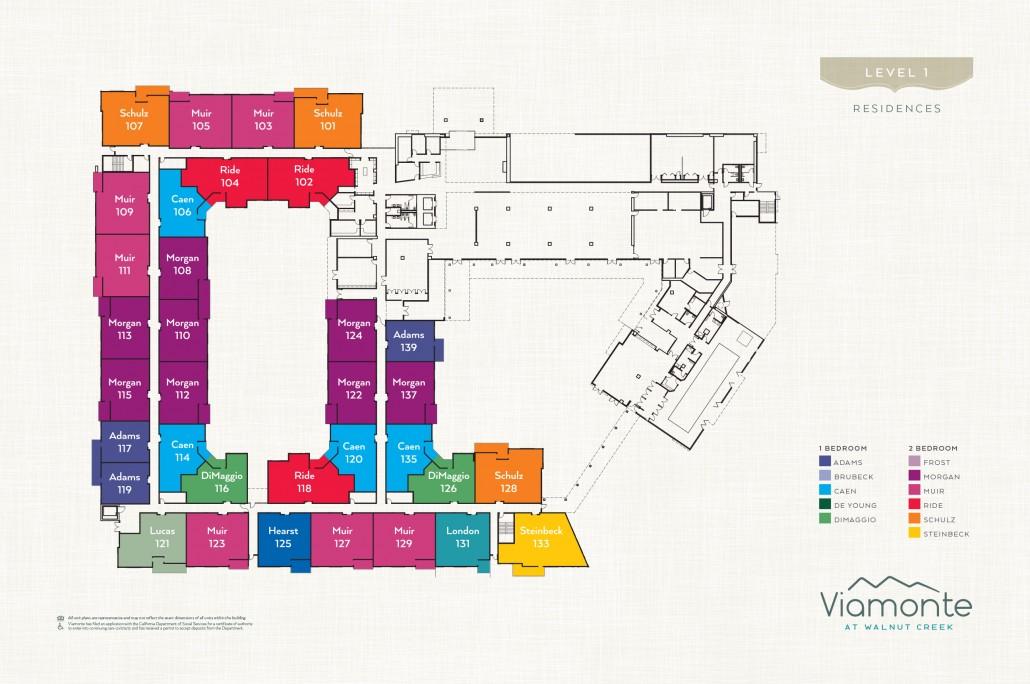 Viamonte - Level Plan 1