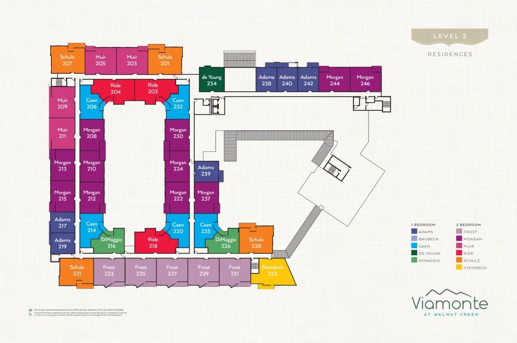 Viamonte - Level Plan 2