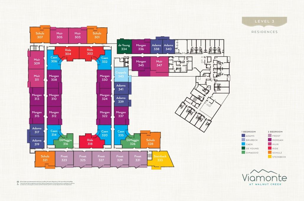 Viamonte - Level Plan 3