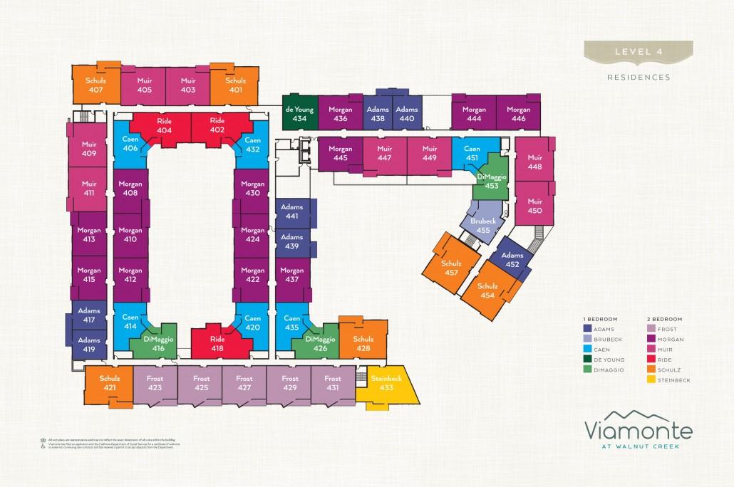 Viamonte - Level Plan 4