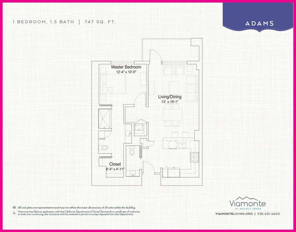 Viamonte - Floor Plan - Adams
