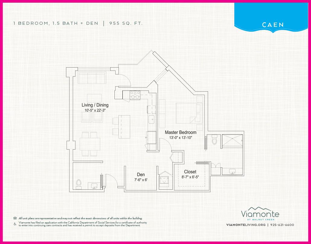 Viamonte - Floor Plan - Caen