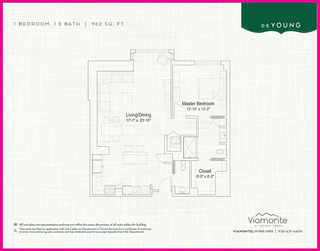 Viamonte - Floor Plan - Deyoung
