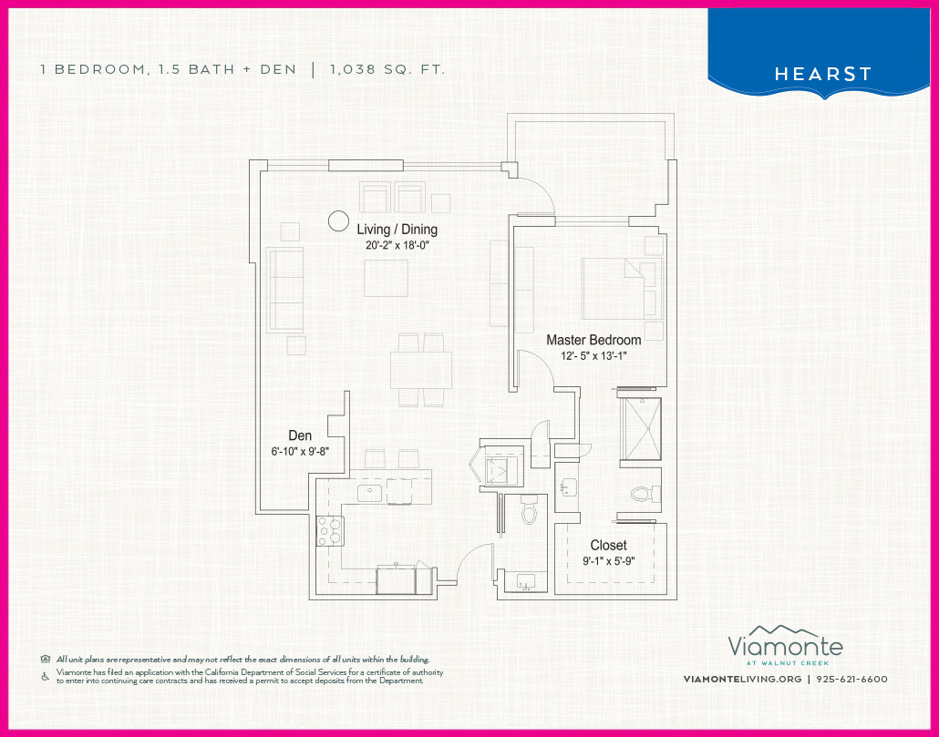 Viamonte - Floor Plan - Hearst