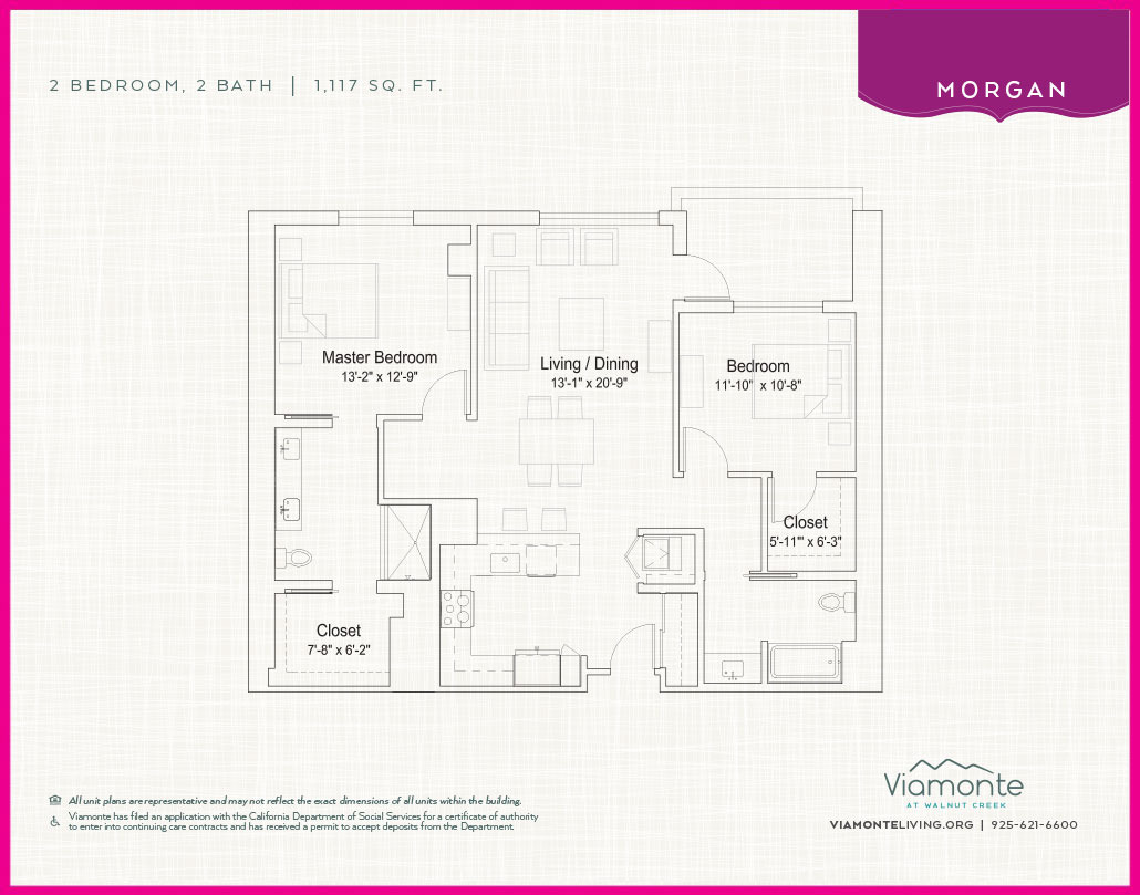 Viamonte - Floor Plan - Morgan