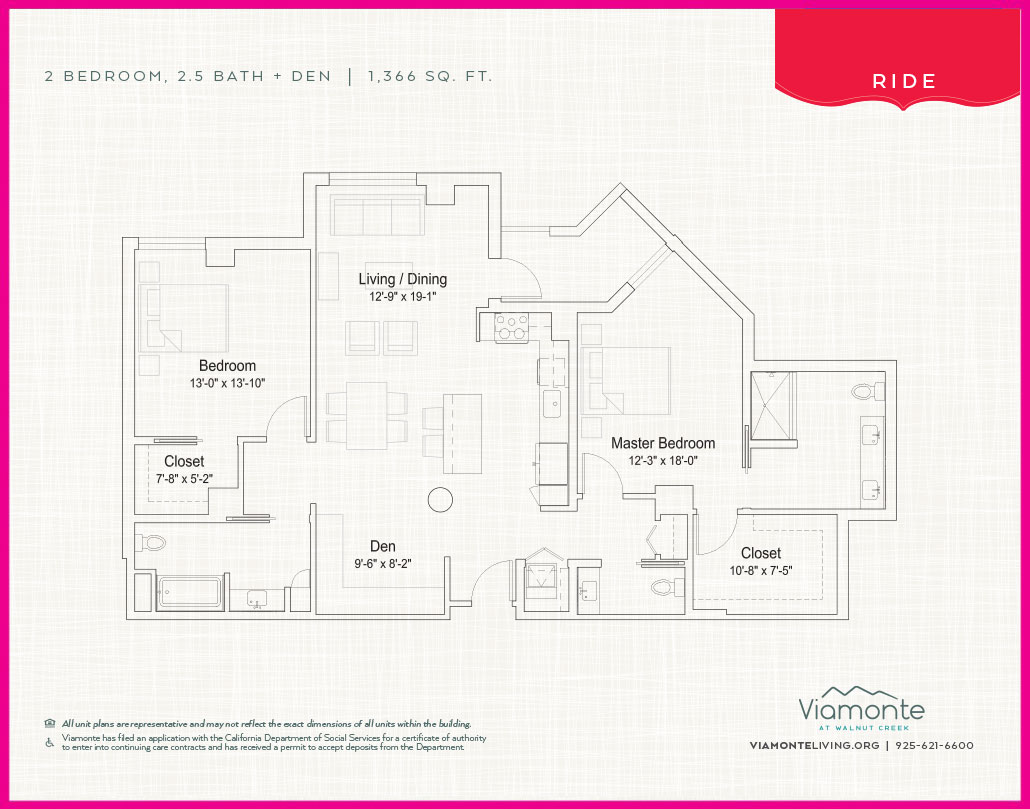 Viamonte - Floor Plan - Ride