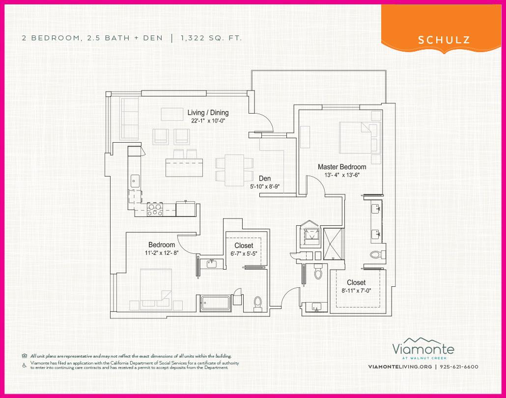 Viamonte - Floor Plan - Schultz