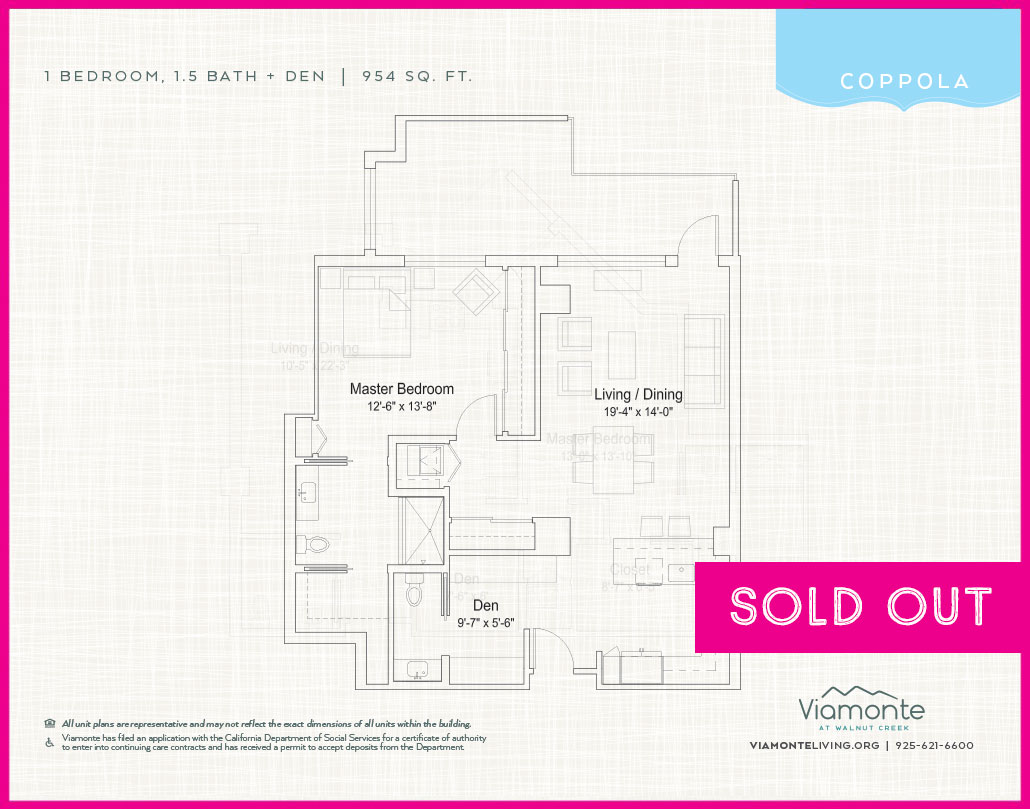 Viamonte - Floor Plan - Coppola - SOLD OUT