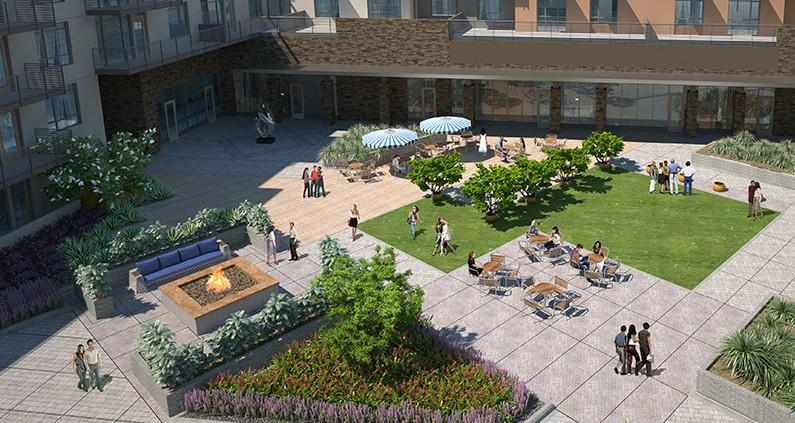 Viamonte - Courtyard
