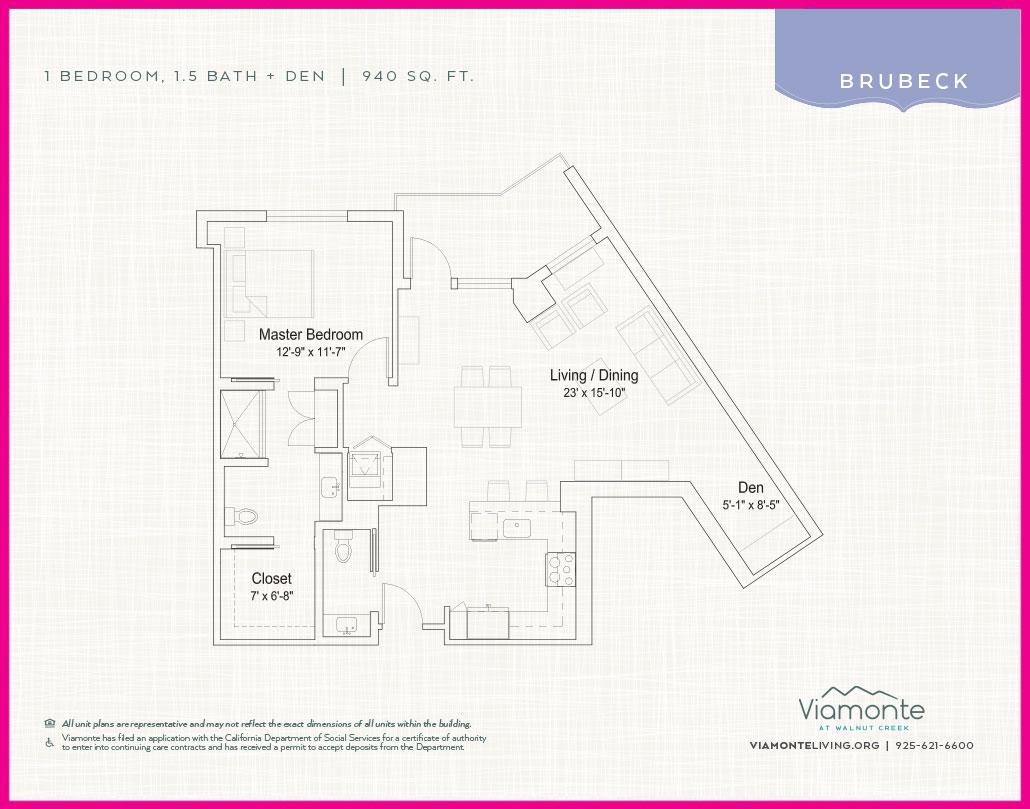 Viamonte - Floor Plan - Brubeck