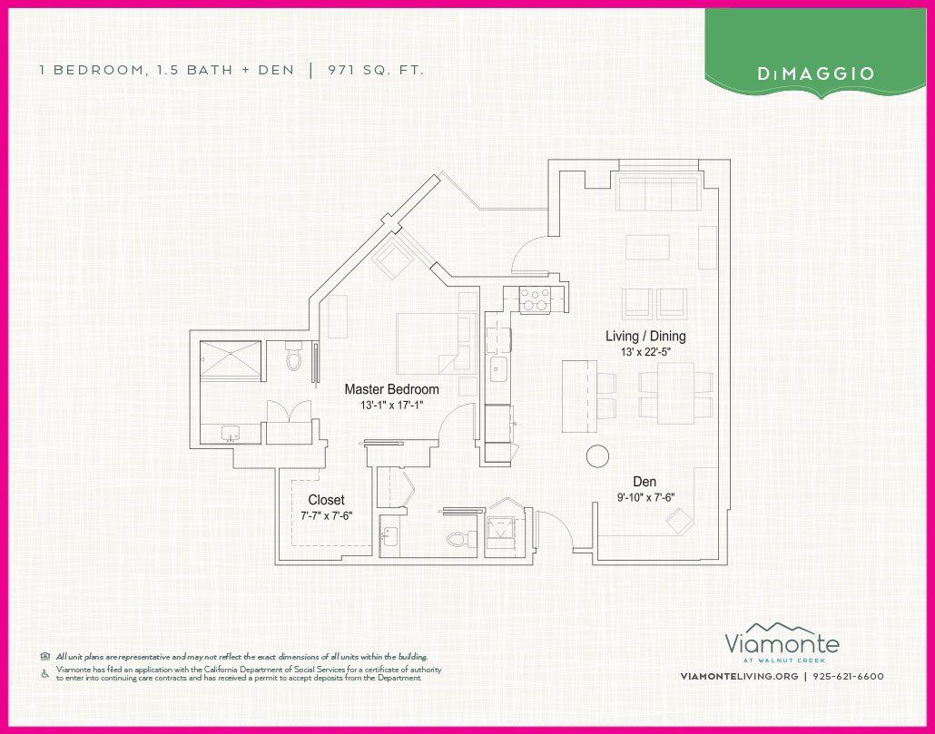Viamonte - Floor Plan - Dimaggio