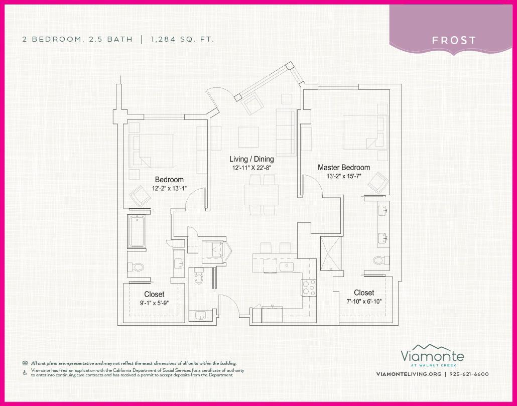Viamonte - Floor Plan - Frost