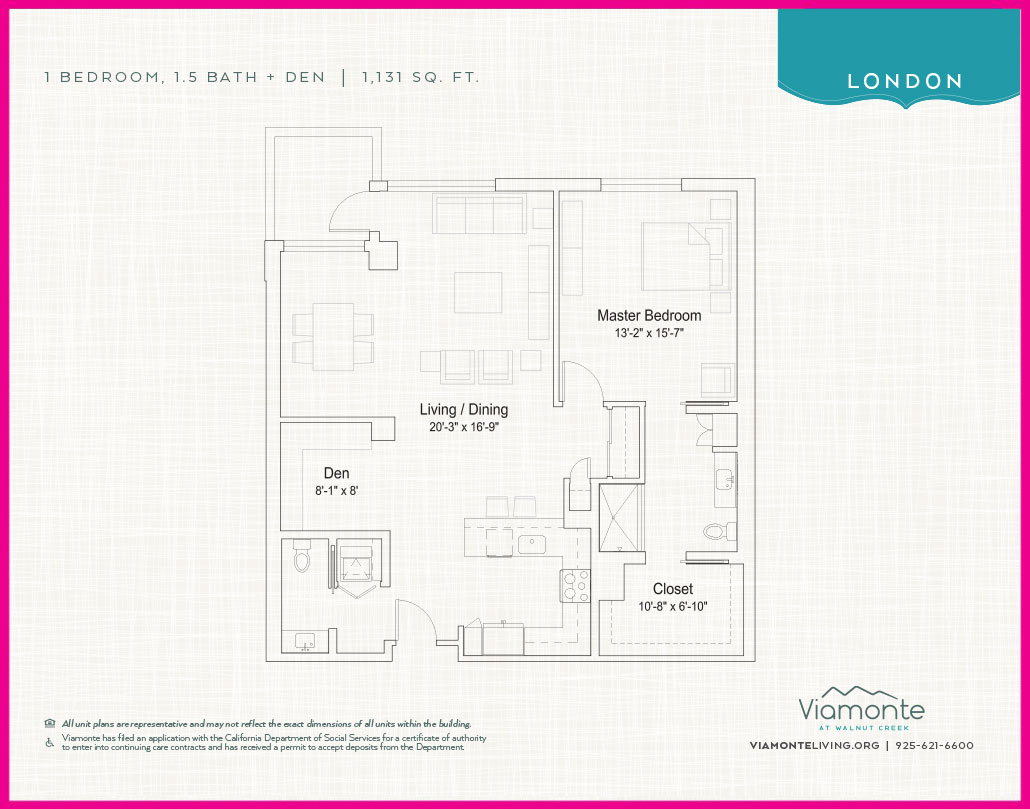 Viamonte - Floor Plan - London