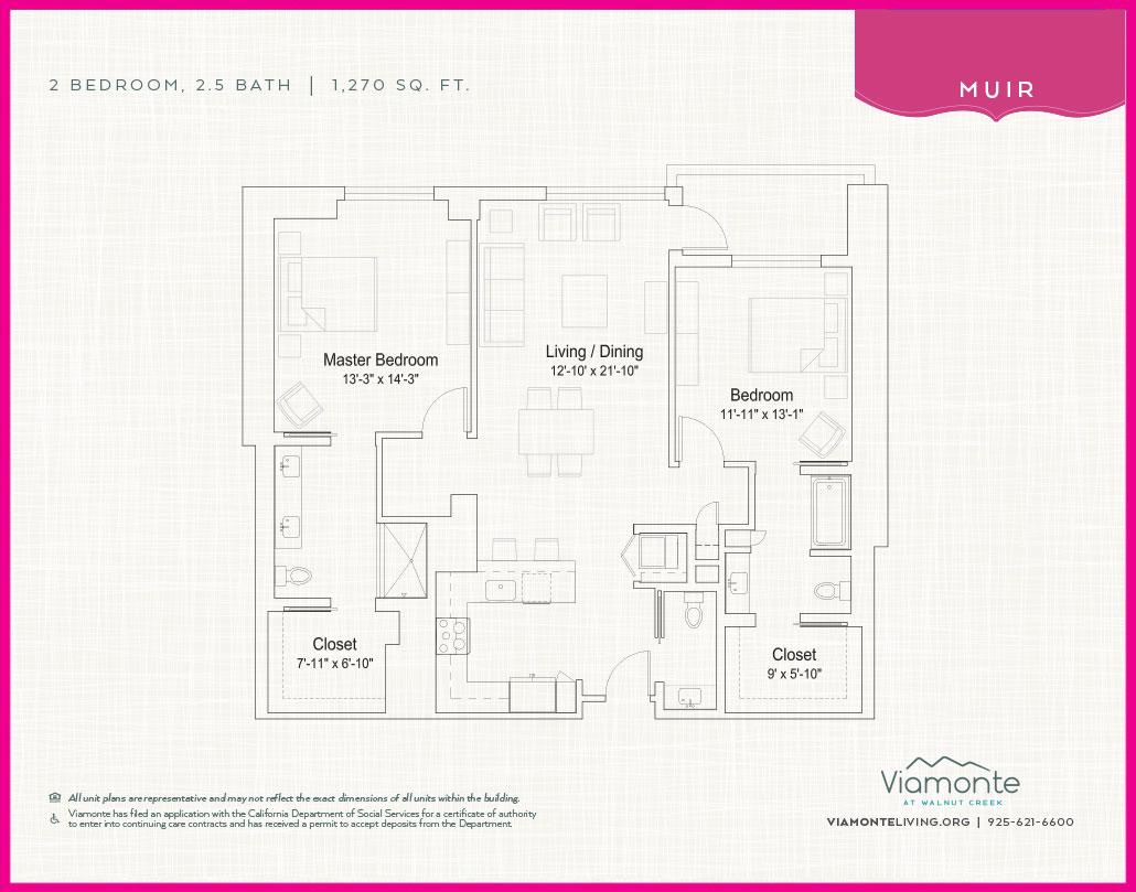 Viamonte - Floor Plan - Muir