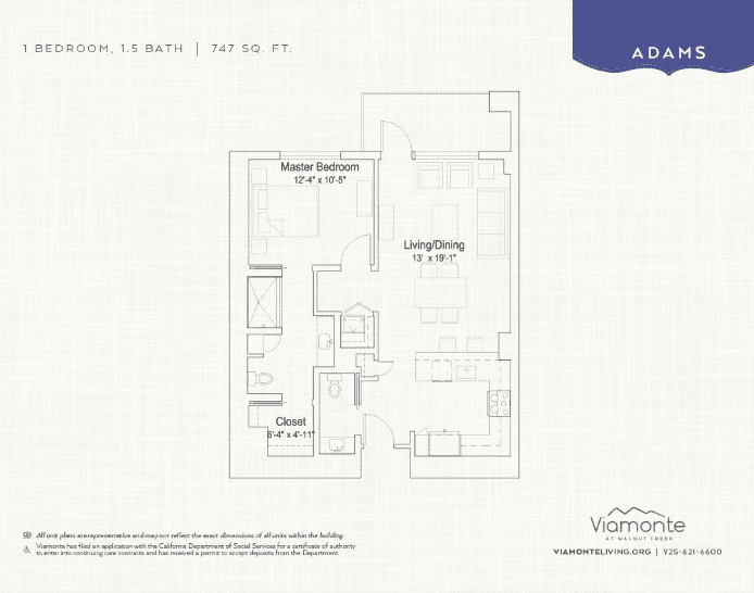 Adams floor plan
