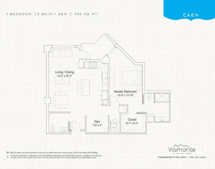 Caen floor plan