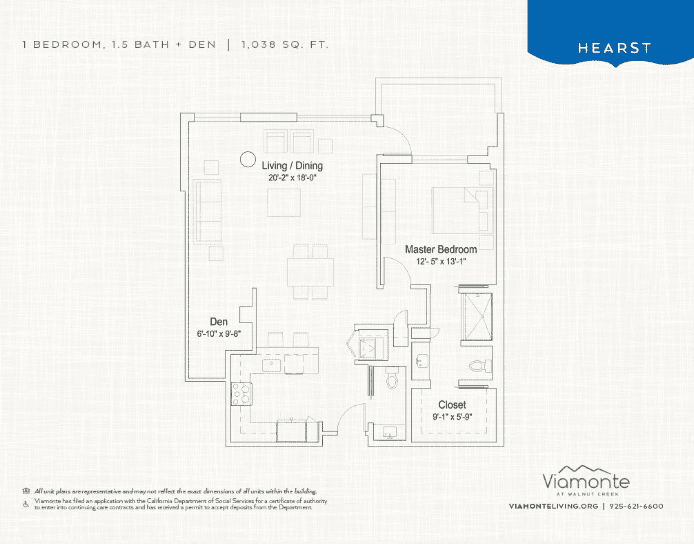 Hearst floor plan