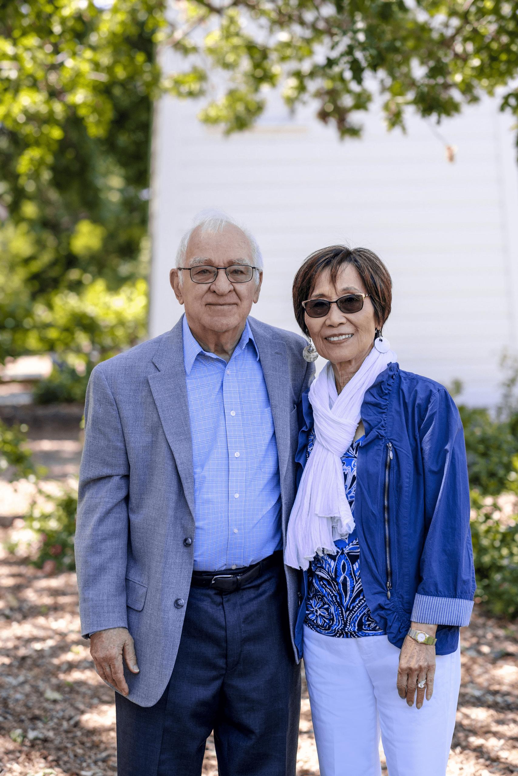 Retiring Couple at Viamonte