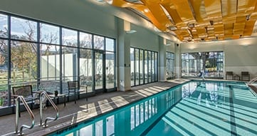swimming pool at viamonte